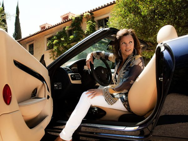Vanessa Williams x Maserati