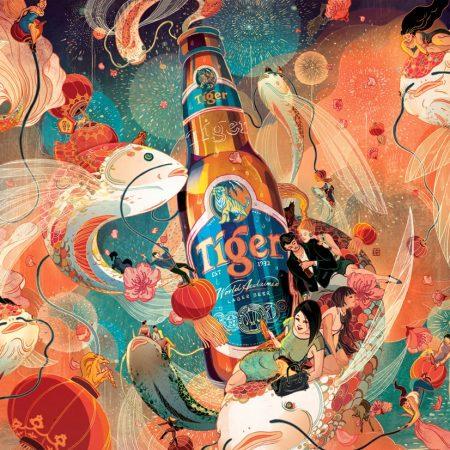 Tiger Beer - Chinese New Year - Key Visual